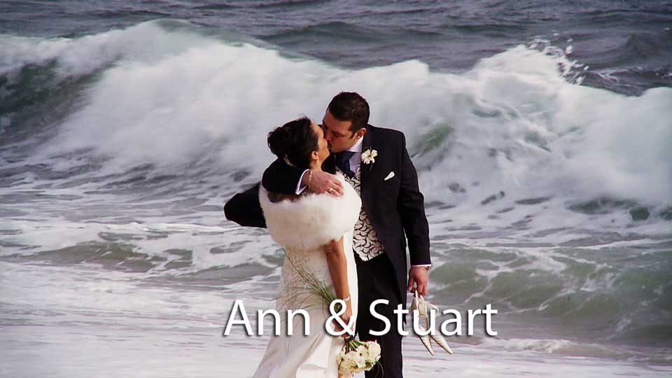 Ann & Stuart at Pendennis castle