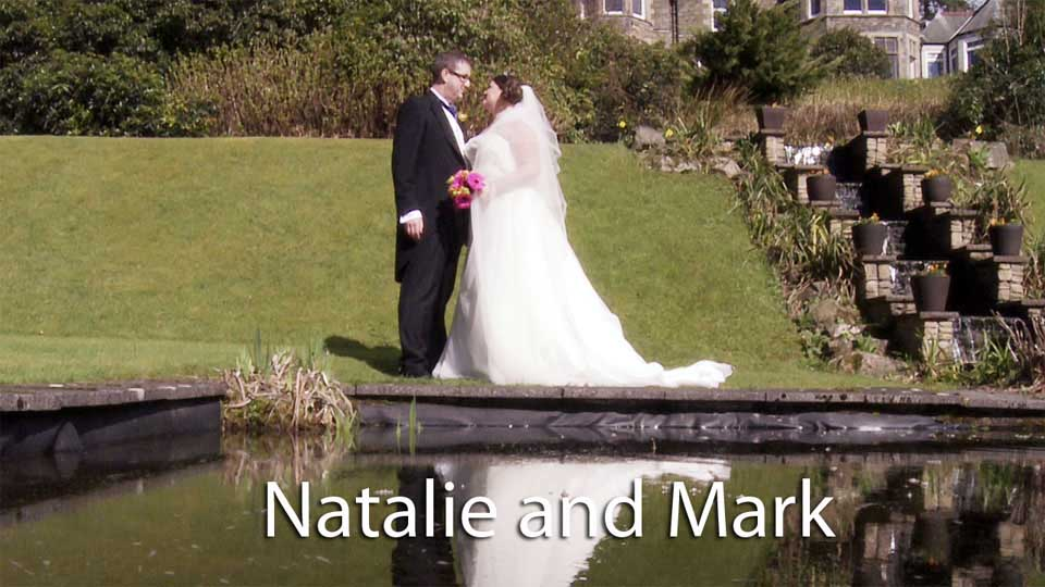 Natalie and Mark in the lake district