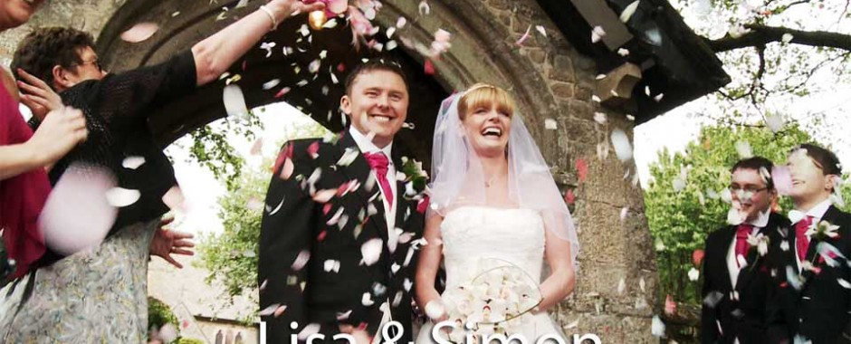 Lisa and Simon at Tregenna castle