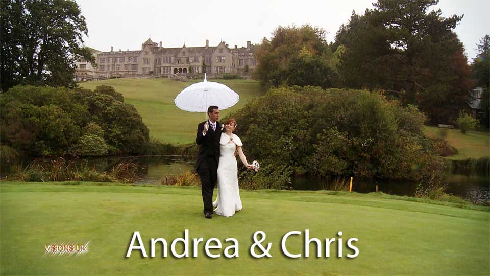Andrea & Chris at Bovey castle