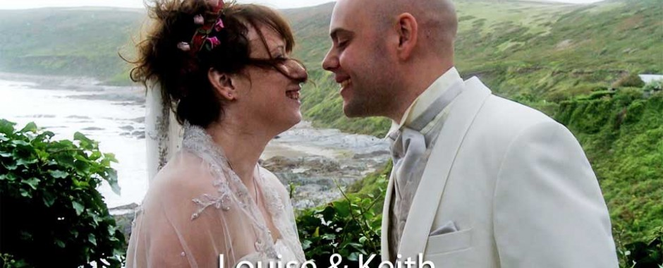 Louise and Keith at Polhawn fort
