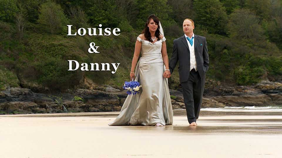 Louise and Danny at Tregenna Castle St. Ives