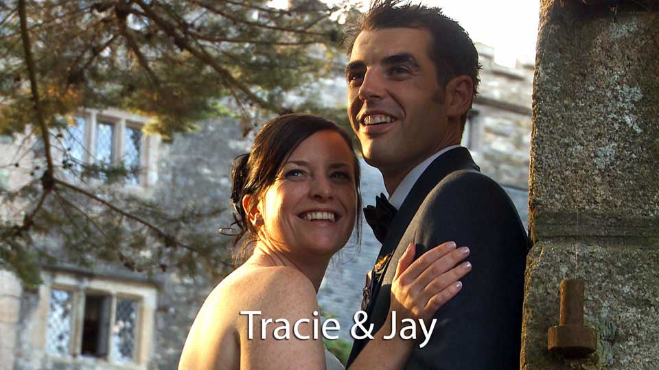 Tracie and Jay at Boringdon Hall