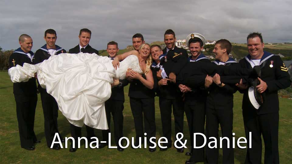 Anna-Louise & Daniel at Porth Veor Manor
