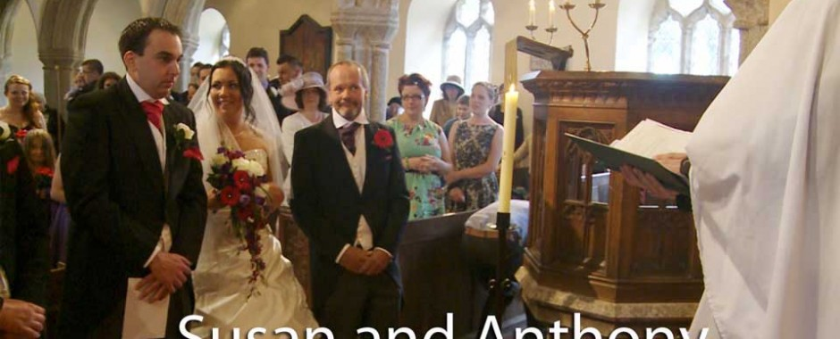 Susan and Anthony's North Cornwall wedding