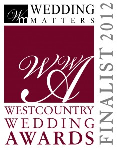 Westcountry Wedding AwardsFinalist Logo 2012