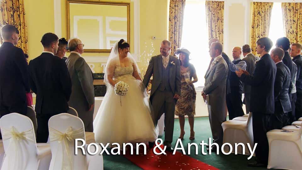 Roxann and Anthony at Tregenna castle St. Ives