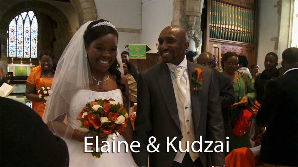 Elaine and Kudzai wedding