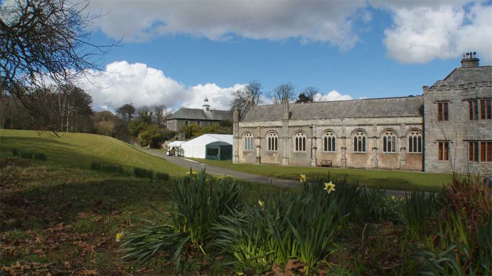 Wedding fair at the Trelowarren estate
