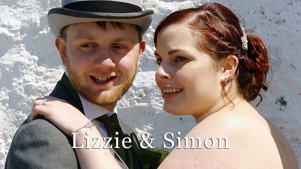 Lizzie and Simon's wedding