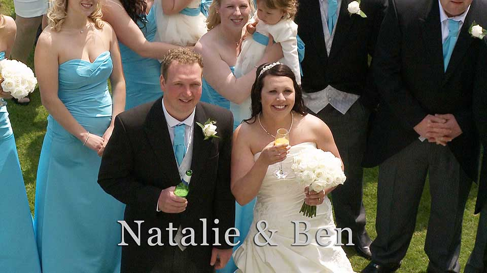 Natalie and Ben's wedding