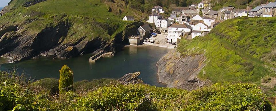 Portloe and the Lugger hotel