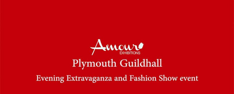 Amour exhibitions wedding event at Plymouth Guildhall