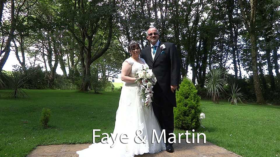 Faye and Martin at Penventon hotel