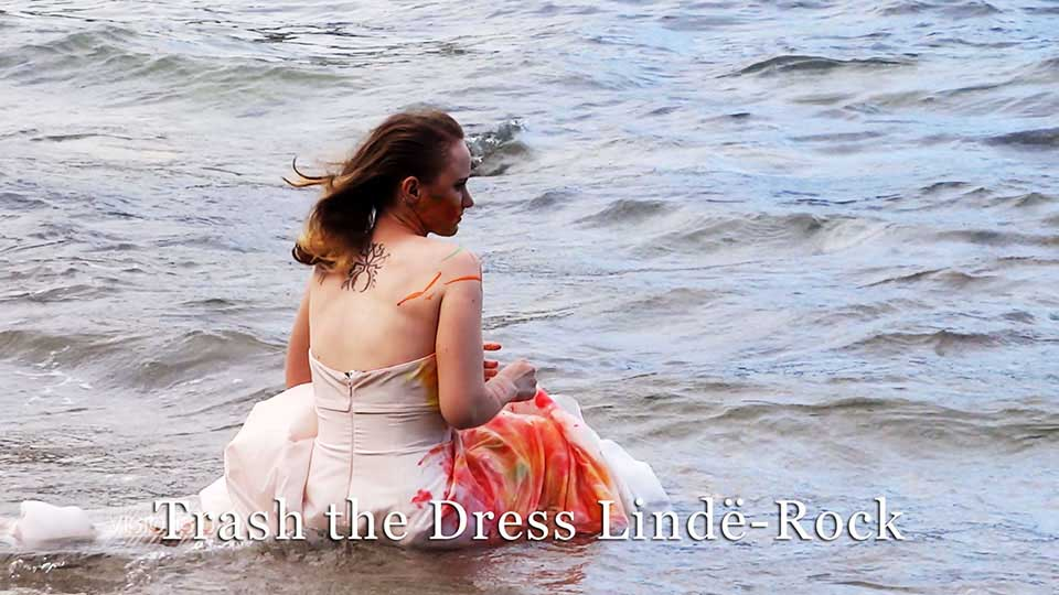 Trash the dress Linde Rock