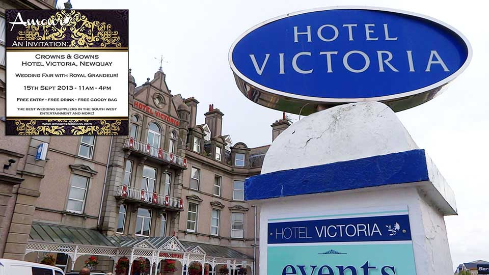 Amour exhibitions wedding fair at Victoria hotel Newquay