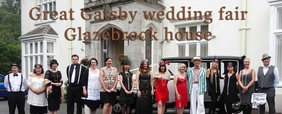 Great Gatsby Wedding Fair at Glazebrook house