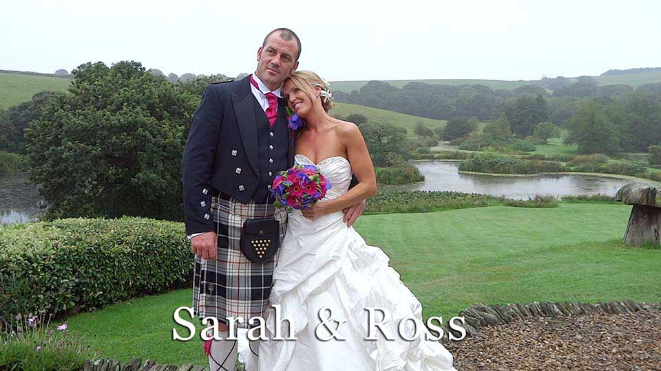 Sarah & Ross~The wedding with an axe