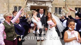 Leanne and Ben at Llawnroc hotel Cornwall