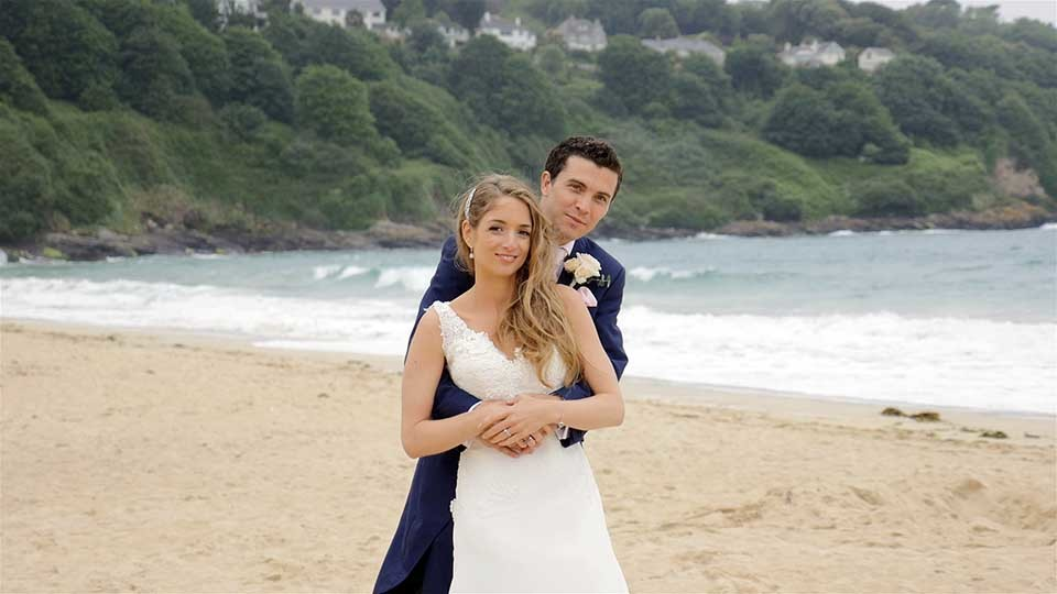 Sarah & Robert at Carbis Bay
