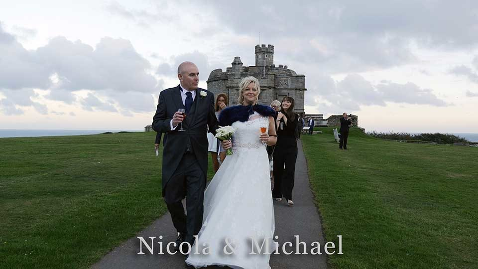 Nicola & Michael at Pendennis