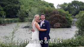 Catherine an Mark wedding