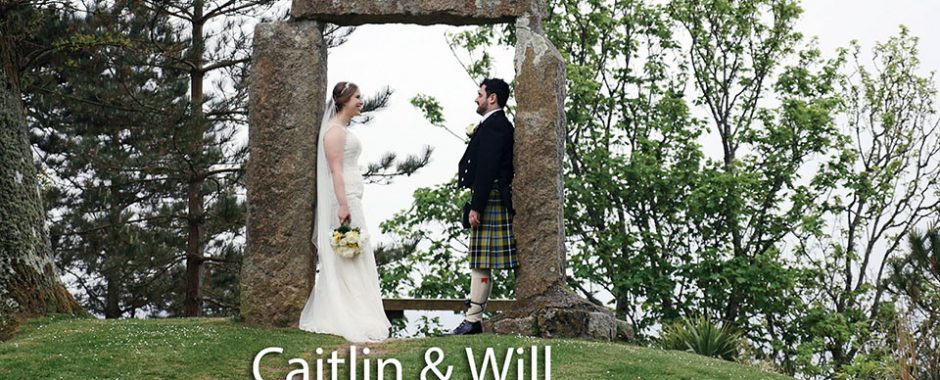 Caitlin and  Will at Pendennis Castle