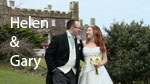 Helen and Gary at Tregenna castle