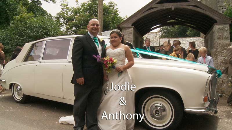 Jodie & Anthony at Gwinear Church and Porthminster Hotel