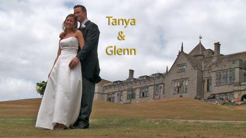 Tanya & Glenn at Bovey Castle