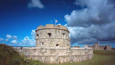 Penndennis Castle Falmouth Cornwall