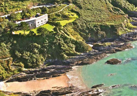 Polhawn Fort Rame Cornwall
