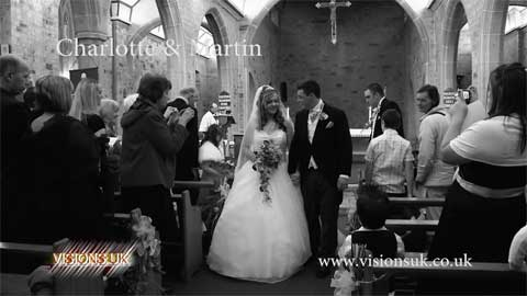 Charlotte and Martin at Lanhydrock Hotel & Golf Club