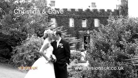 Christina and Dave at Tregenna castle