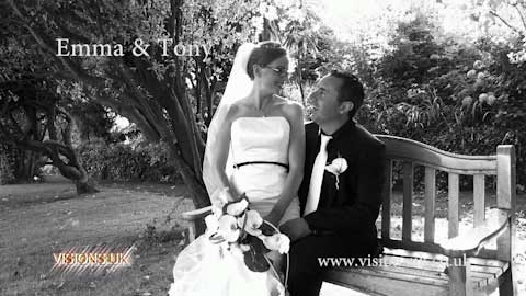 Emma and Tony at Porthminster hotel