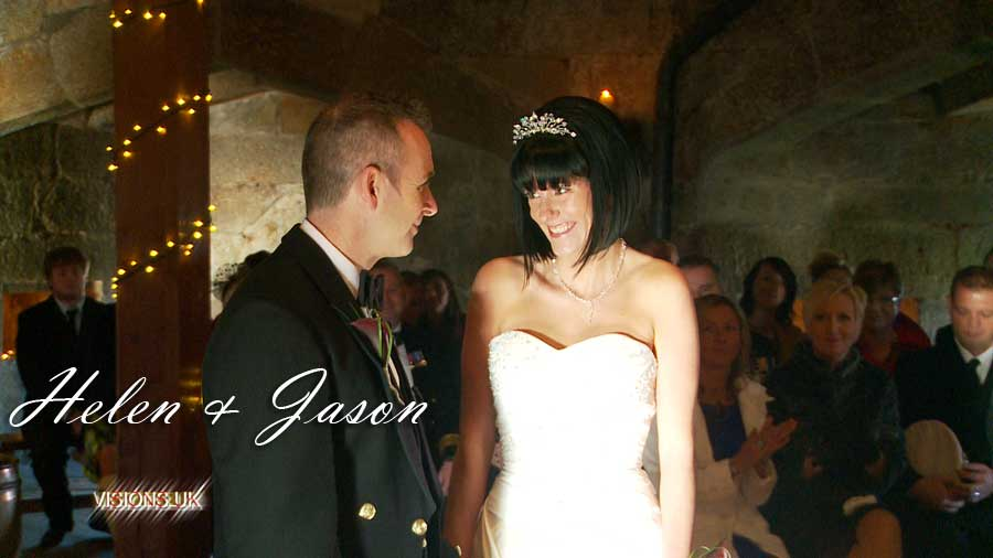 Helen & Jason at Pendennis castle