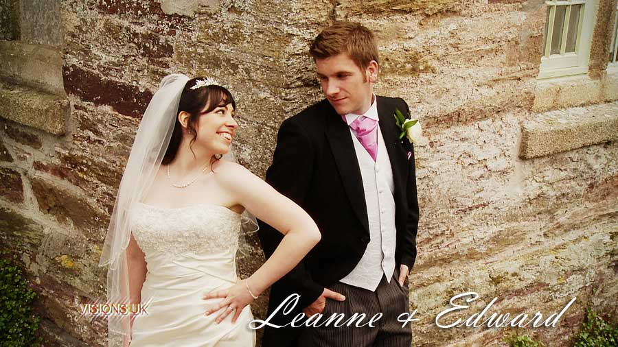 Leanne and Edward at Langdon court