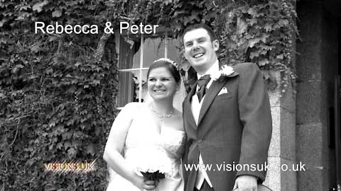 Rebecca and Peter at Tregenna castle