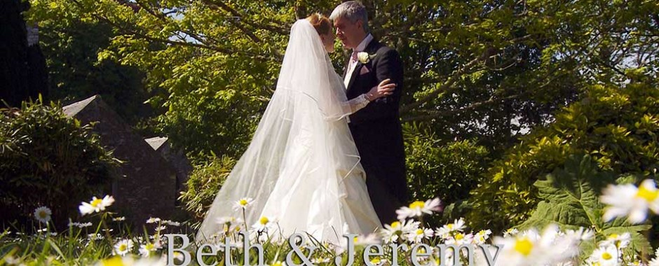 Beth and Jeremy's sunshine filled day ~ A Cornwall wedding film