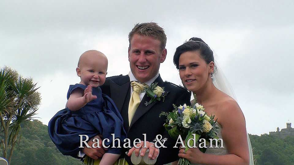 Rachael and Adam with daughter Lola
