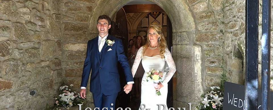 Jessica & Paul at Madron church