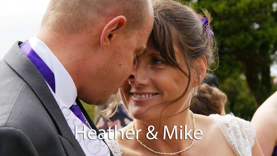 Heather and Mike at Rosewarne Manor