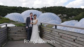 Romy and James at The Eden Project