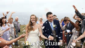 Lucy and Stuart at Carnmarth hotel
