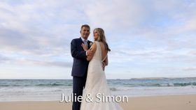 Julie and Simon at Carbis Bay